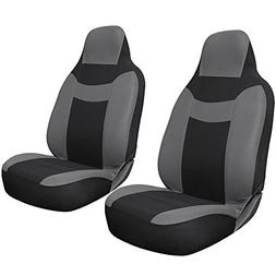 Oxgord 2pc Sport Mesh Integrated High Back Bucket Seat Cover