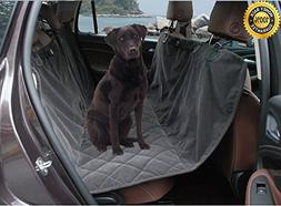 Microfiber Waterproof Dog Hammock Seat Covers Pet Car Seat P