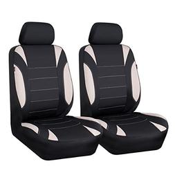 CAR PASS Neoprene 6 Pieces waterproof Two Front Seat Car Cov