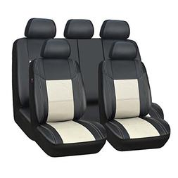 NEW ARRIVAL- CAR PASS Skyline PU LEATHER CAR SEAT COVERS - U