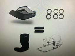 New Bugaboo Bee5 Style Set Stroller Accessories Black Part#