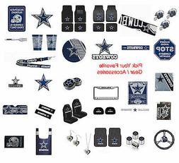 New NFL Dallas Cowboys Pick Your Gear / Automotive Accessori