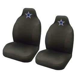 NFL Dallas Cowboys Car Truck 2 Front Seat Covers Set - Offic