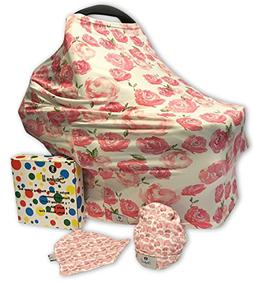 Styles II Nursing Cover Set - Car Seat Canopy, Shopping Cart