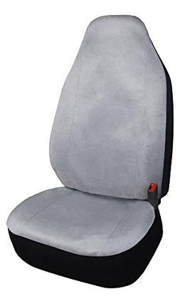 Leader Accessories One High Back Bucket Seat Protector Grey