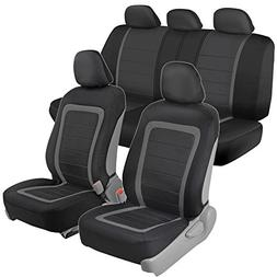 BDK S3CC Gray Easy Installation Car Sideless for Airbag and