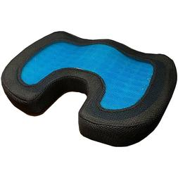 Orthopedic Gel & Memory Foam Seat Cushion Office Chair Car S