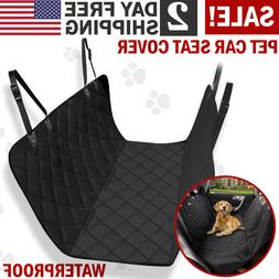 Pet Car Seat Cover Back Rear Bench Mat Pad Waterproof Hammoc