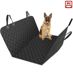 Pet Seat Cover for Dogs Car Back Seat Protector Hammock Resi