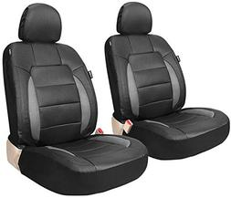 Leader Accessories Platinum Vinyl Faux Leather Universal Car