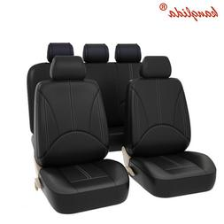 KANGLIDA PU Leather Deluxe Car <font><b>Cover</b></font> <fo