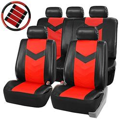 FH Group PU021115 Synthetic Leather Full Set Auto Seat Cover