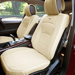 FH Group PU205102 Ultra Comfort Leatherette Front Seat Cushi
