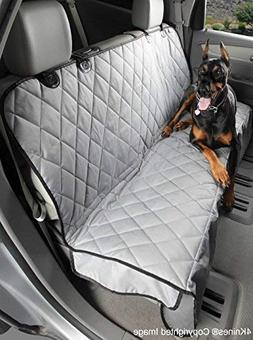 4Knines Dog Seat Cover with Hammock for Cars, Trucks and SUV