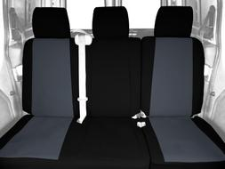 CalTrend Rear Row 60/40 Split Bench Custom Fit Seat Cover fo