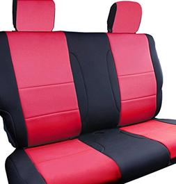 Leader Accessories Rear Solid Bench Car Seat Cover Custom Fi