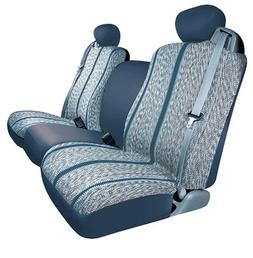 Saddleman Custom Made Front Bucket Seat Covers - Saddle Blan