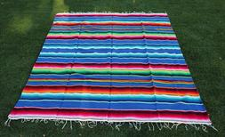 Trinity Serape XXL 5' X 7' Mexican Blanket Hot Rod Seat Cove