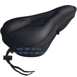Soft Saddle Pad Cushion Cover Gel Silicone Seat for Mountain