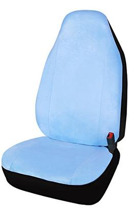 Leader Accessories Soft Velour One Car Front Seat Cover with