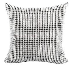 Square/Rectangle Solid Pinkycolor Printed Cushion Cover Chez