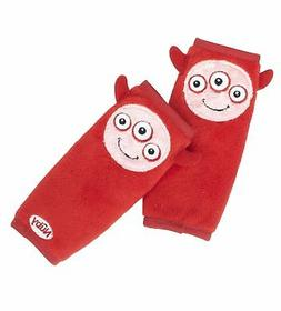 Nuby Car Seat StrapCovers 2 Pack, Red Monster