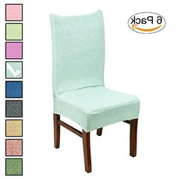 Stretch Dining Room Chair Covers Soft Spandex Seat Protector