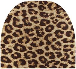 Automotive Innovations Tan Leopard Polyester Front/Back Univ