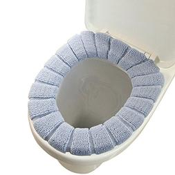 Toilet Seat Cover - VESIPA O-Shaped Bathroom Warmer Washable