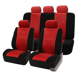 FH Group Universal Fit Full Set Trendy Elegance Car Seat Cov