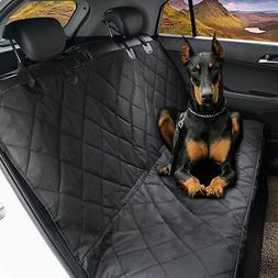 Waterproof Car SUV Van Rear Back Seat Pet Dog Cover Protecto
