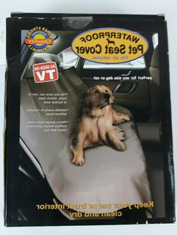 Waterproof Car Vehicle Dog Pet Seat Cover - Gray Large 5 foo