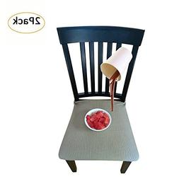 Waterproof Dining Chair Cover Protector - Pack of 2 - Perfec