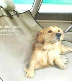 Waterproof Pet Seat Cover Tan Fits Most Vehicles Etna Produc